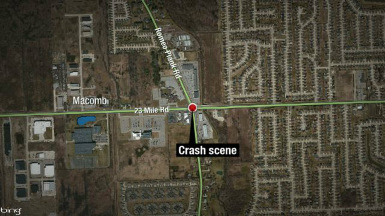 Motorcyclist Dies After Crash In Macomb Township Intersection