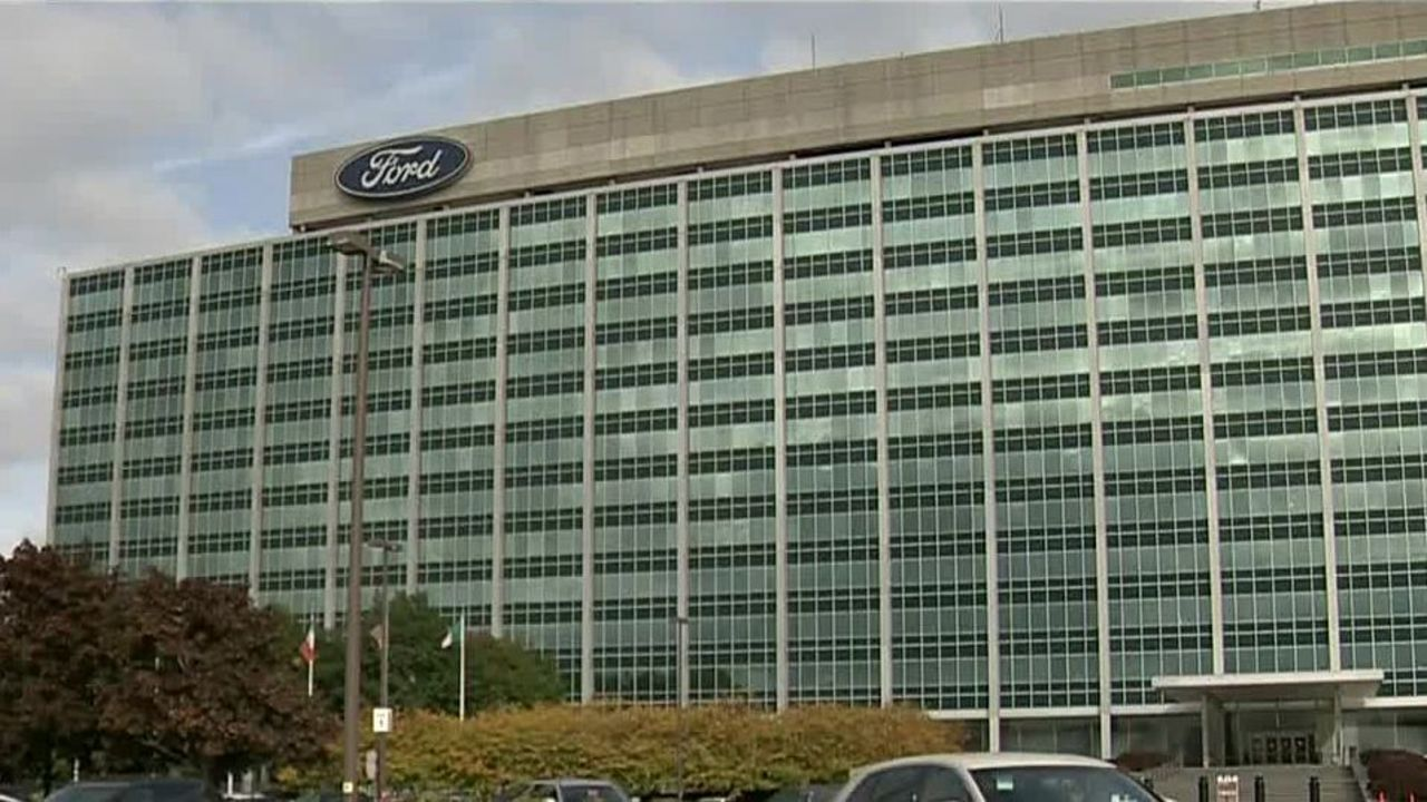 Ford World Headquarters evacuated due to smoke from