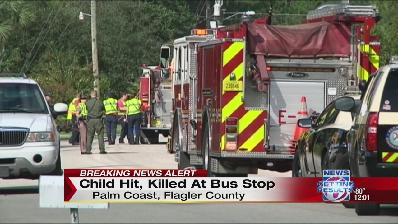 7 Year Old Girl Dies After Being Struck By Car In Flagler