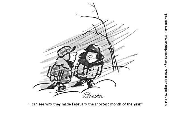 February 2017 Cartoons