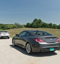 comparison test 2013 hyundai genesis coupe 2 0t r spec vs 2013 scion [ 4070 x 2708 Pixel ]