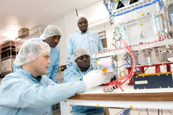 The Nigerian space agency claims to have trained 300 staff to PhD or BsC level, and has ambitious plans to expand the industry, and encourage space programs across the continent.