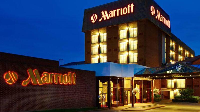 The Heathrow/Windsor Marriott Hotel in the United Kingdom.