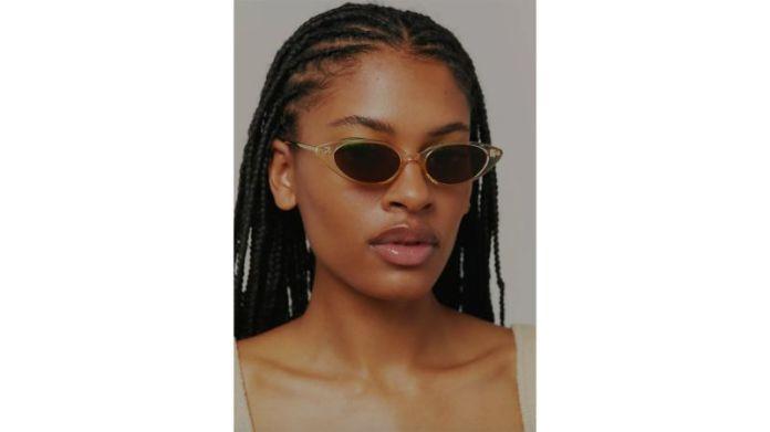Ginger Slim Cat-Eye Sunglasses