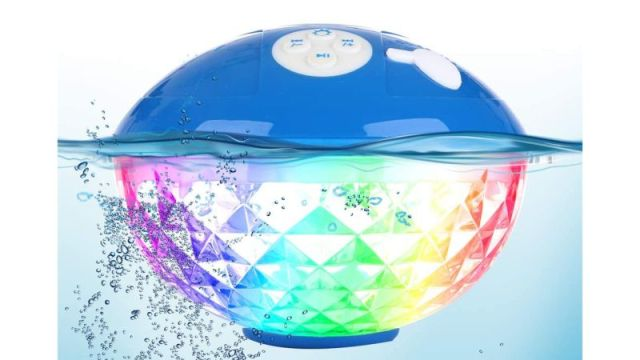Blufree Bluetooth Speaker With Colorful Lights