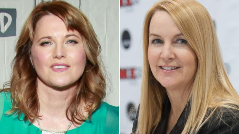 Lucy Lawless and Renee O'Connor