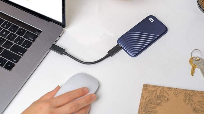 WD 1TB My Passport SSD External Portable Solid-State Drive