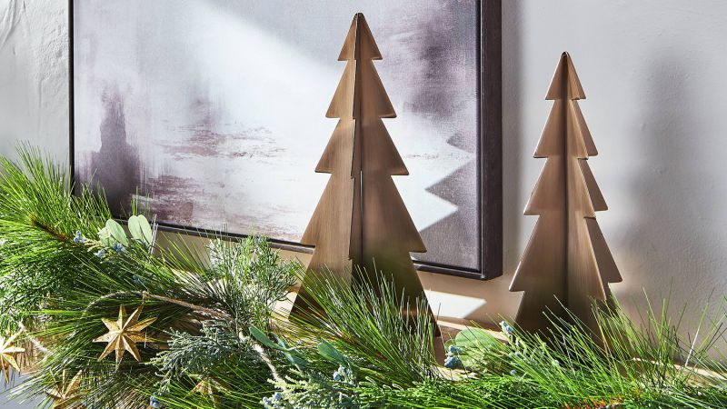 Threshold Designed With Studio McGee Gold Antique Tabletop Tree
