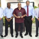 Customs celebrate retiree's decades of service