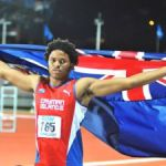 Jamal Walton strikes gold at Island Games