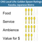 Golden Spoons Review – Kazoku Japanese Bistro
