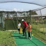 Kids learn about cricket this summer