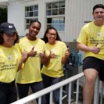 Summer interns give back