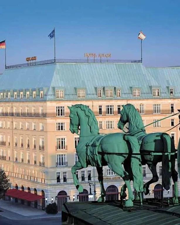 Hotel Adlon Kempinski Berlin Berlin Germany  Hotel Review  Cond Nast Traveler