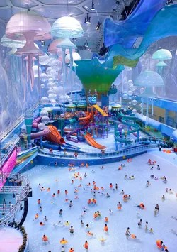 The Worlds Coolest Indoor Water Parks  Photos  Cond