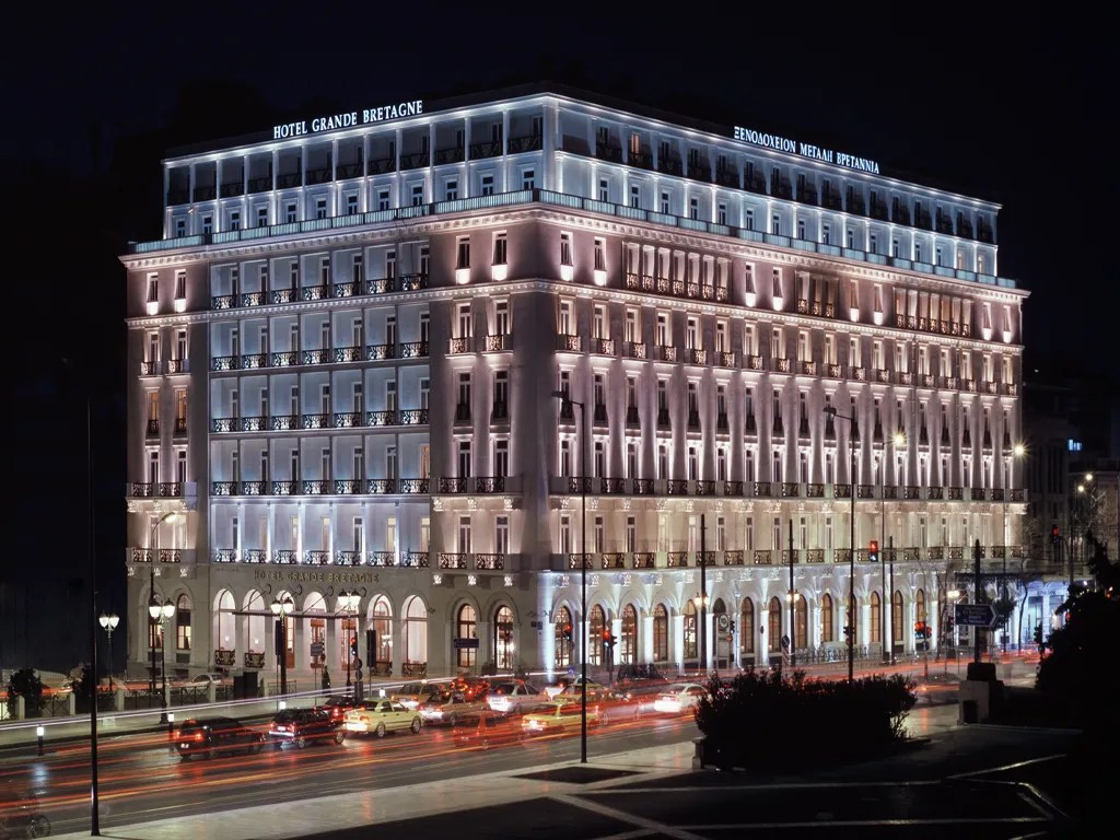 Hotel Grande Bretagne Luxury Collection Athens Greece
