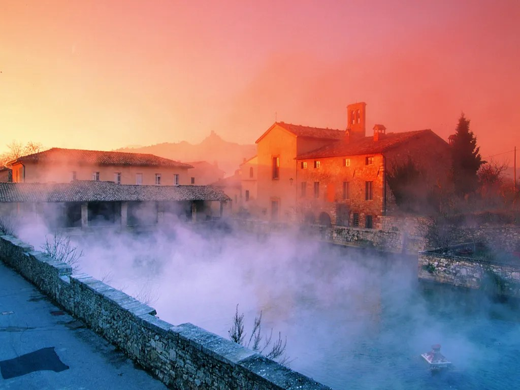 Hotel Adler Thermae Bagno Vignoni Tuscany Italy  Cond Nast Traveler
