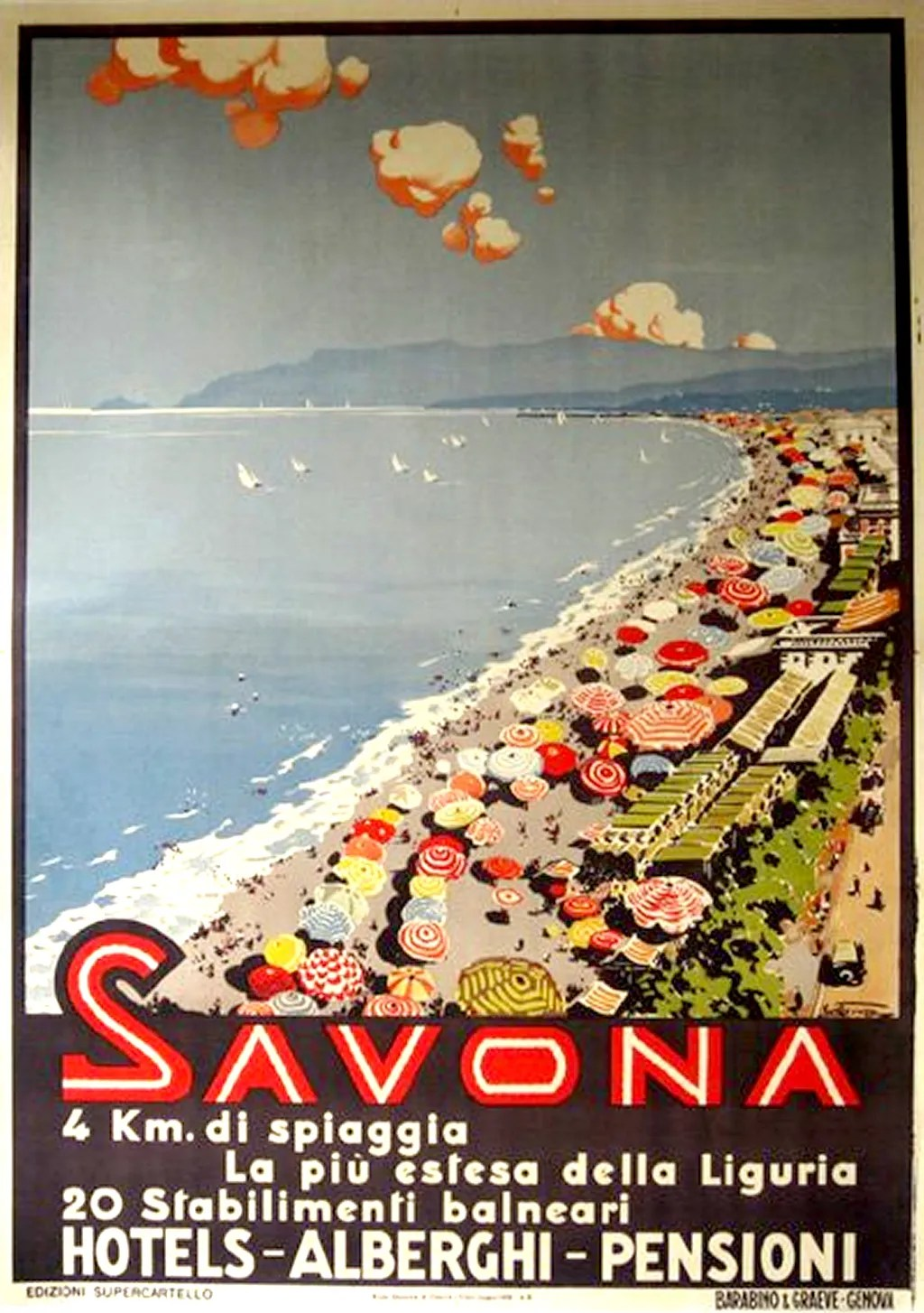 Vintage Travel Posters Impossibly Glamorous Beach Vacations  Cond Nast Traveler