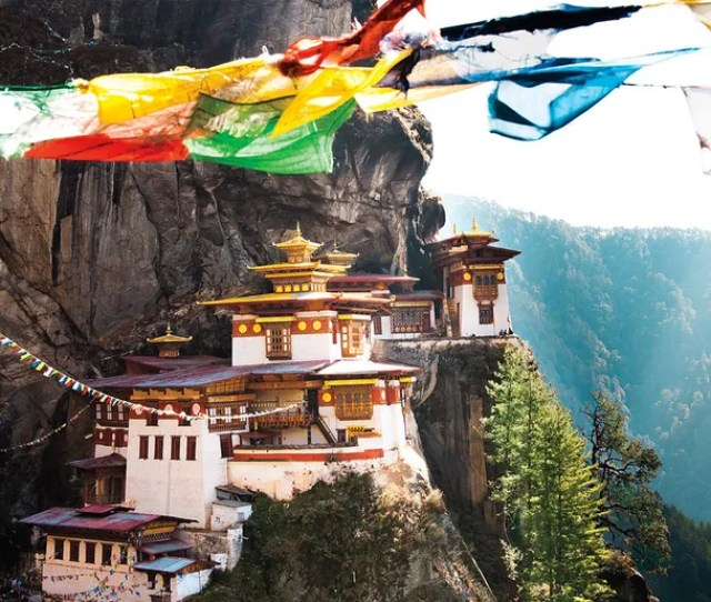 The Seventeenth Century Taktsang Tigers Nest Monastery Is One Of Bhutans Most Fabled And Visited Sites The Country Is Anything But Overrun And Wants