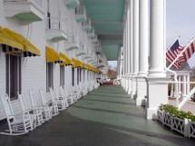Grand Hotel Porch Mackinac Island