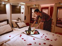 Luxurious Class Airplane Cabins