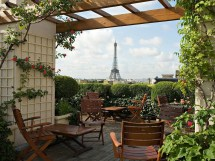 Eiffel Tower Paris Hotel with View