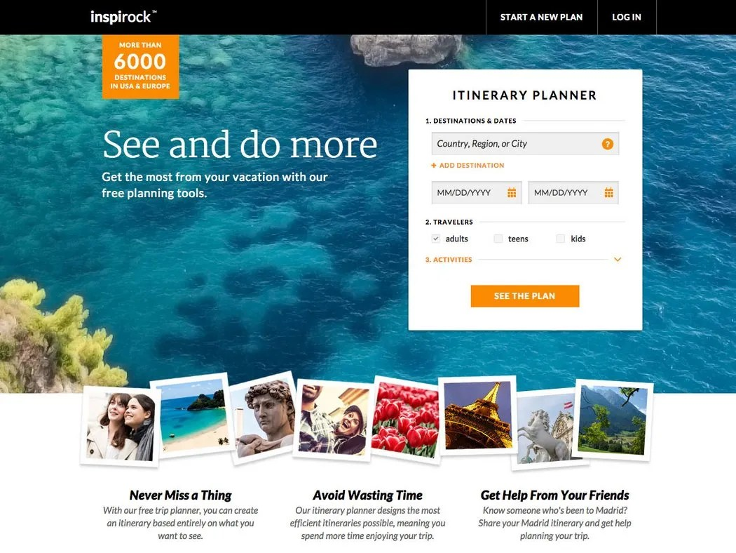 Will Inspirock Automatically Create The Vacation Of Your Dreams Conde Nast Traveler