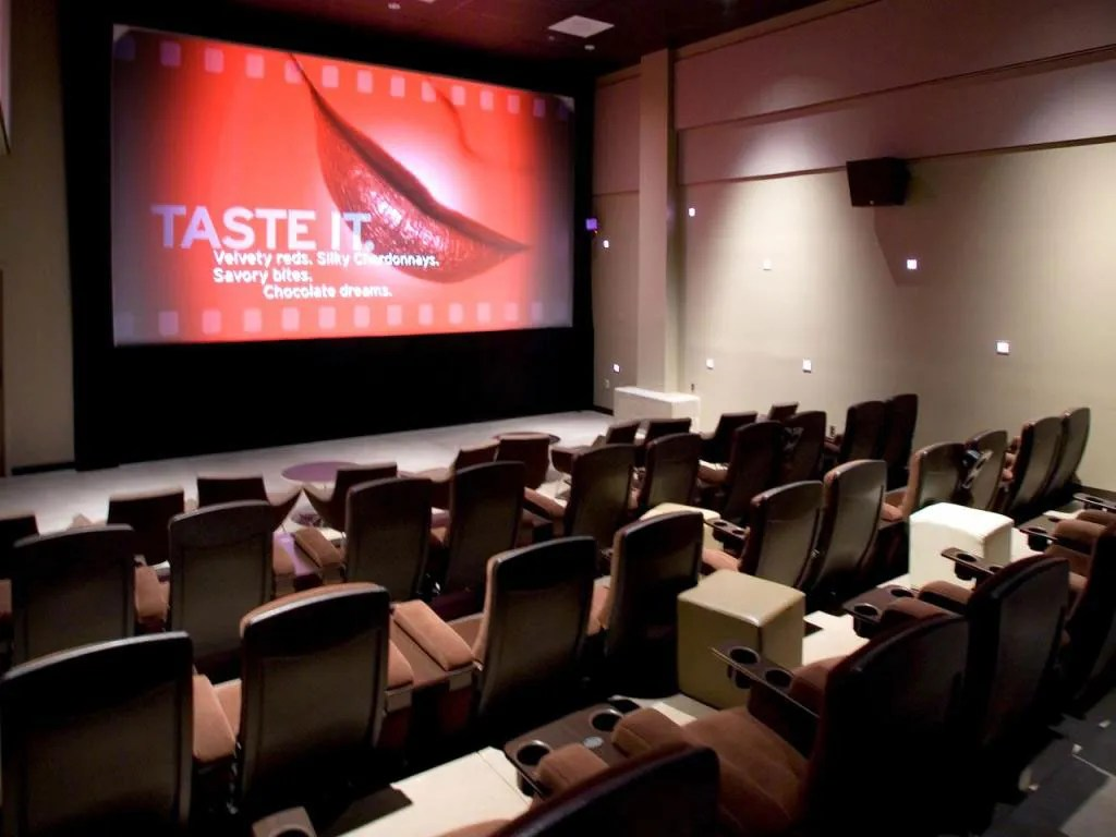 living room theater shades of orange paint for theaters portland oregon united states cinema