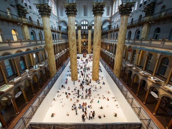 Enjoy ' Beach' Sunburn National Building Museum - Cond Nast Traveler