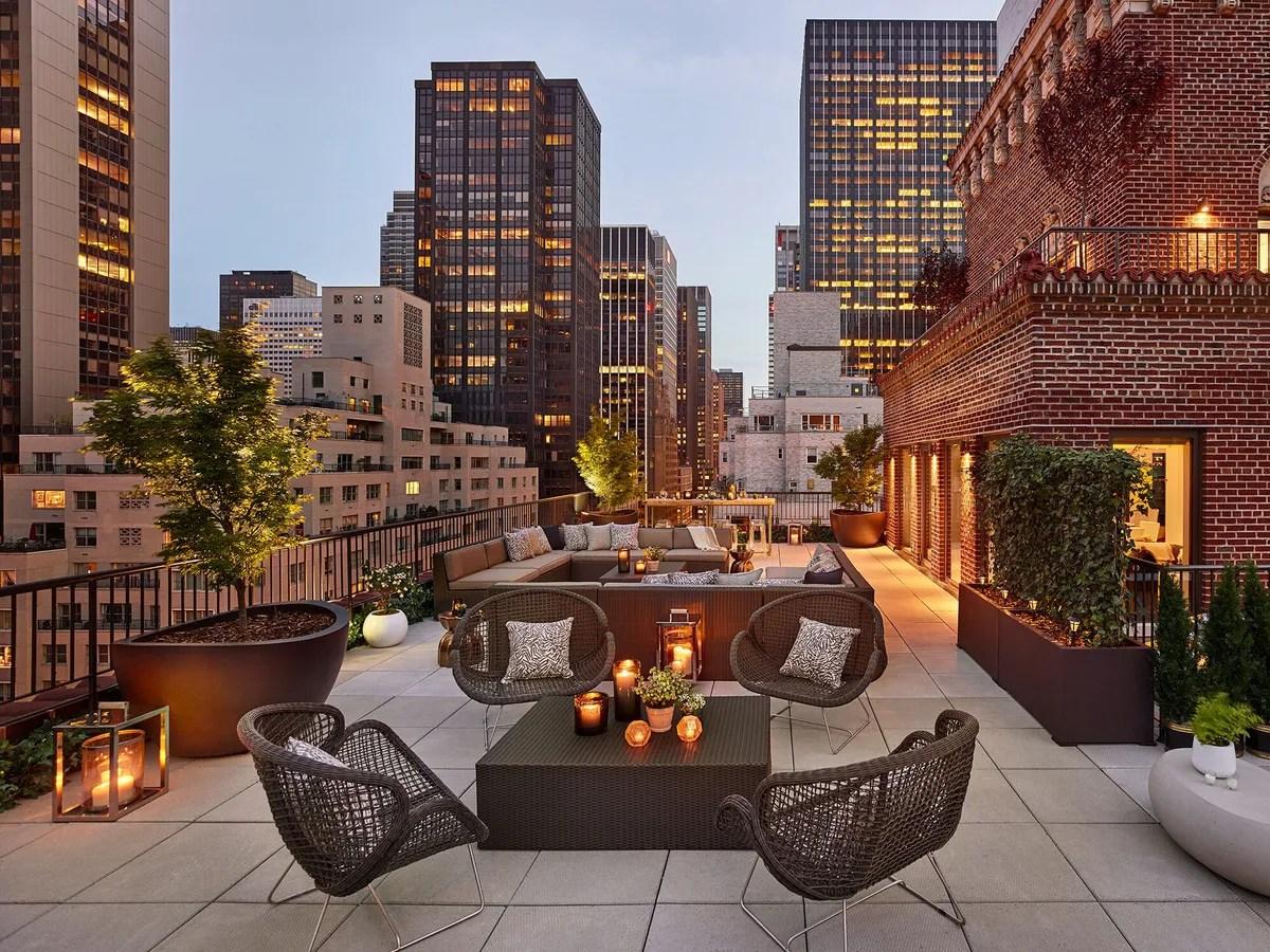 10 Beautiful NYC Hotel Terraces The Quin Wythe Hotel Park Hyatt  Cond Nast Traveler