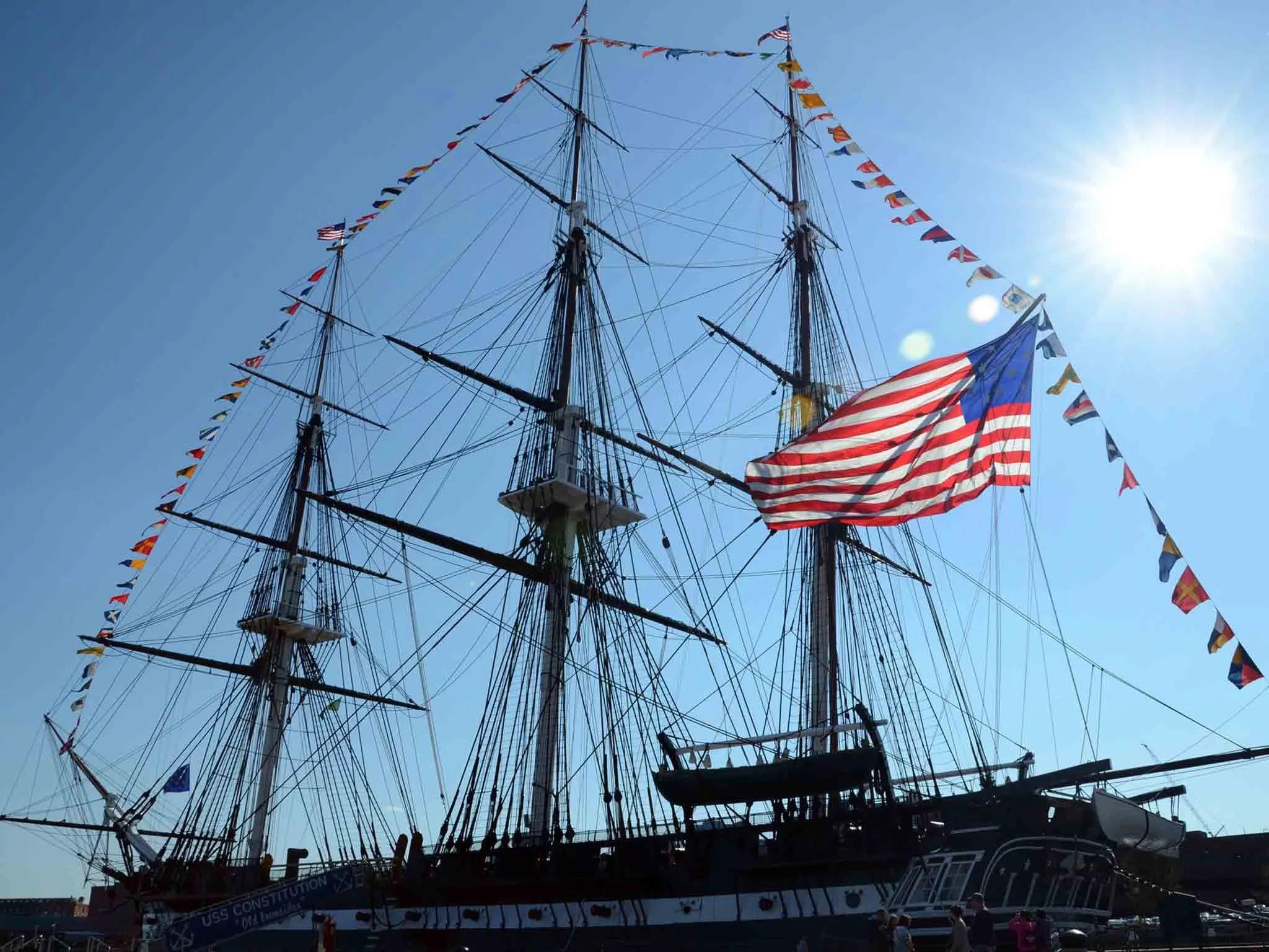 Us S Constitution Boston Massachusetts