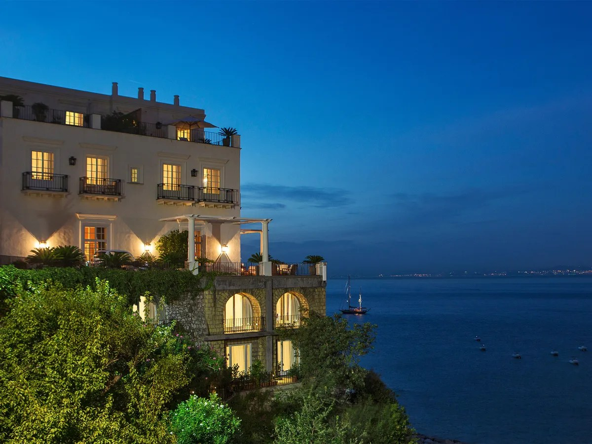 JK Place Capri Capri Italy  Hotel Review  Cond Nast Traveler