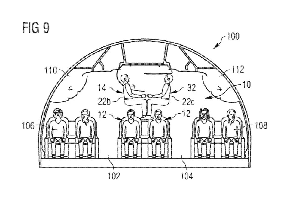 Airbus Files Patent to Stack Passengers Like Firewood