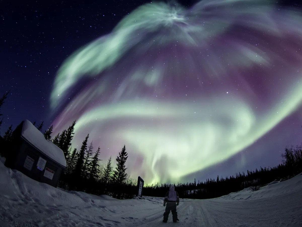 Yellowknife Northern Lights