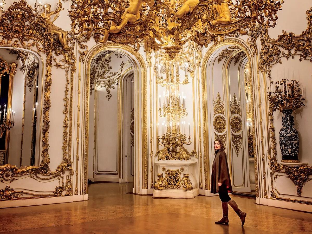Liechtenstein City Palace Vienna Austria - Landmark