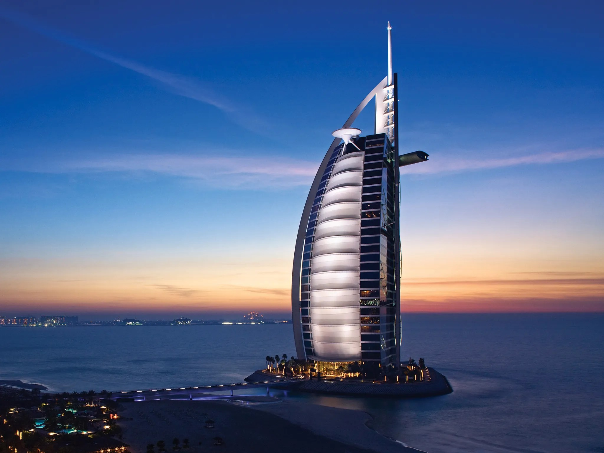 Dubais Extravagent Burj AlArab Hotel is Now Accessible