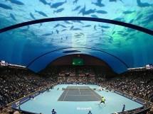 Dubai Site Of Underwater Tennis Court