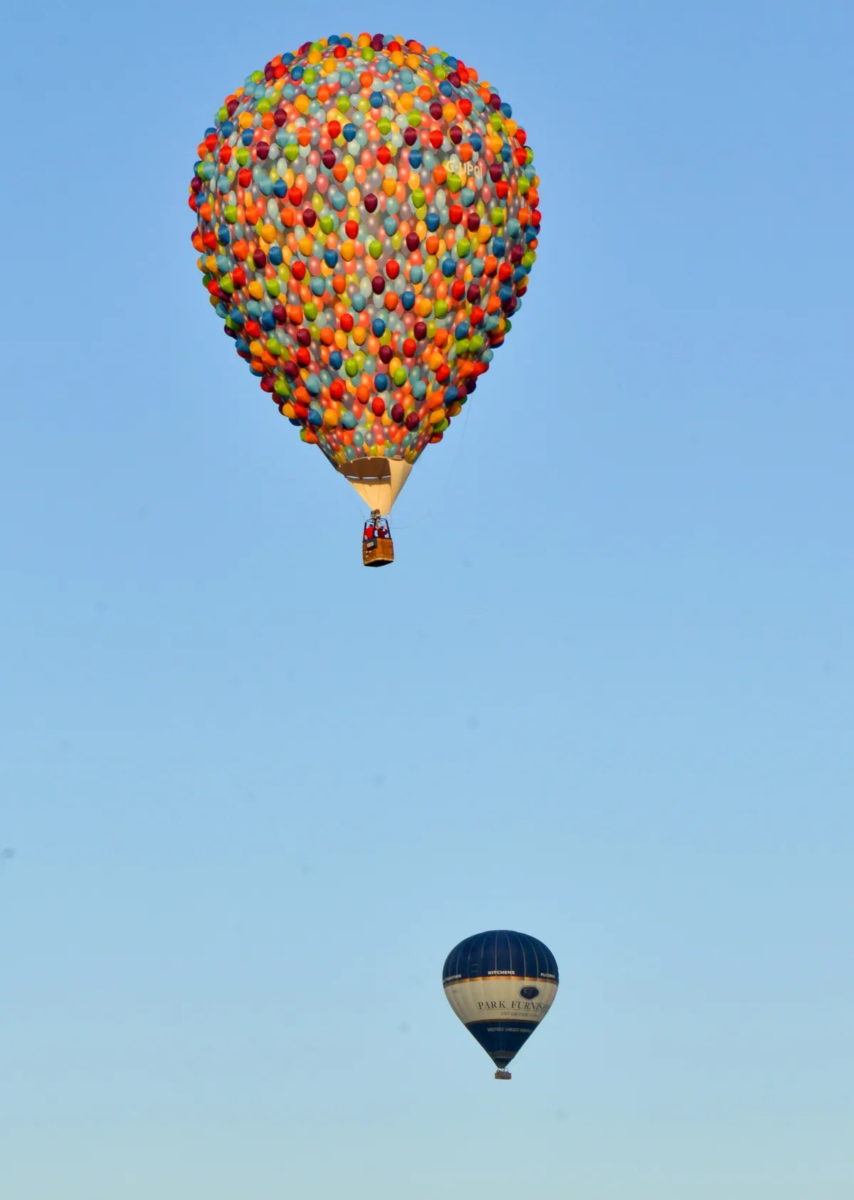 The Balloon From Pixar S Up Is Flying Over Australia