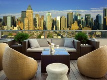 Rooftop Lounge New York City