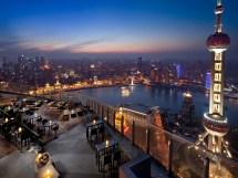 Ritz-Carlton Shanghai Bar Rooftop