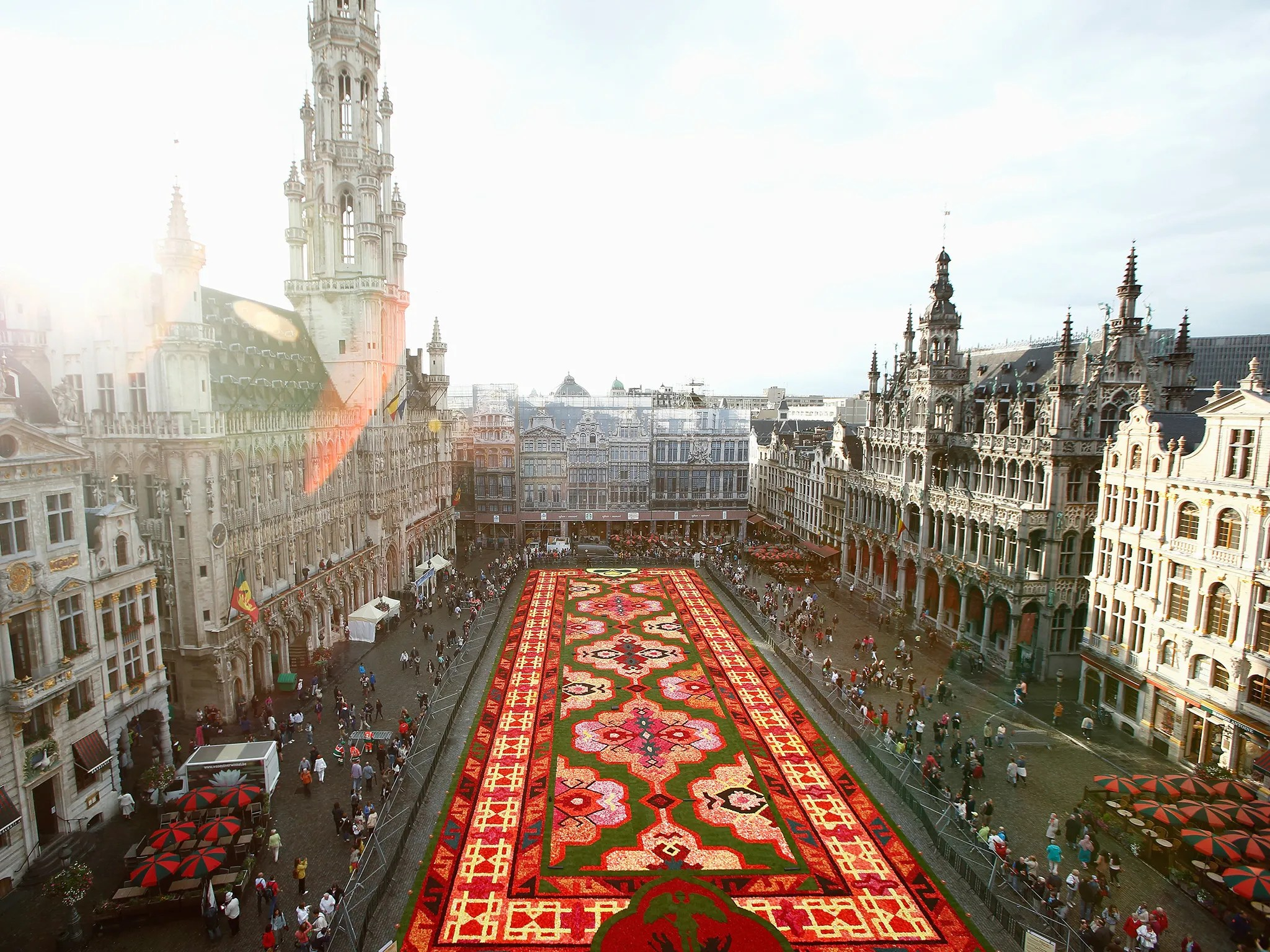 Giant Flower Carpet to Take Over Brussels Main Square  Cond Nast Traveler