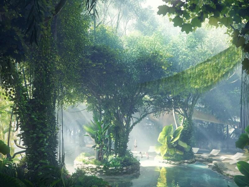 Image result for dubai rainforest hotel