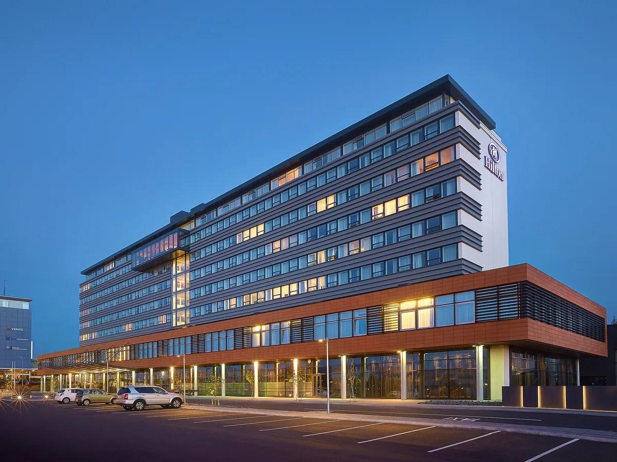 Hilton Hotel in Reykjavik Iceland
