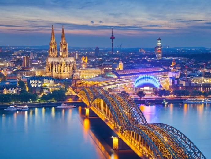 Cologne melhores cidades da Europa para visitar