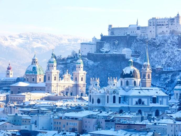 melhores cidades da Europa para visitar salzburgo
