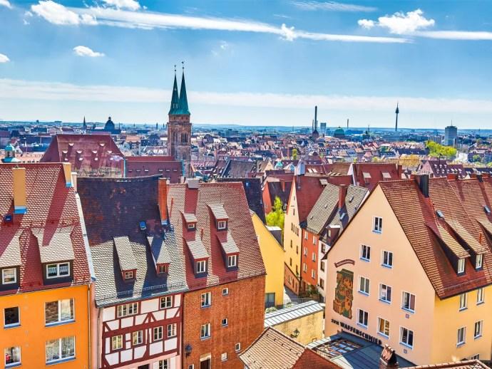 melhores cidades da Europa para visitar nuremberg
