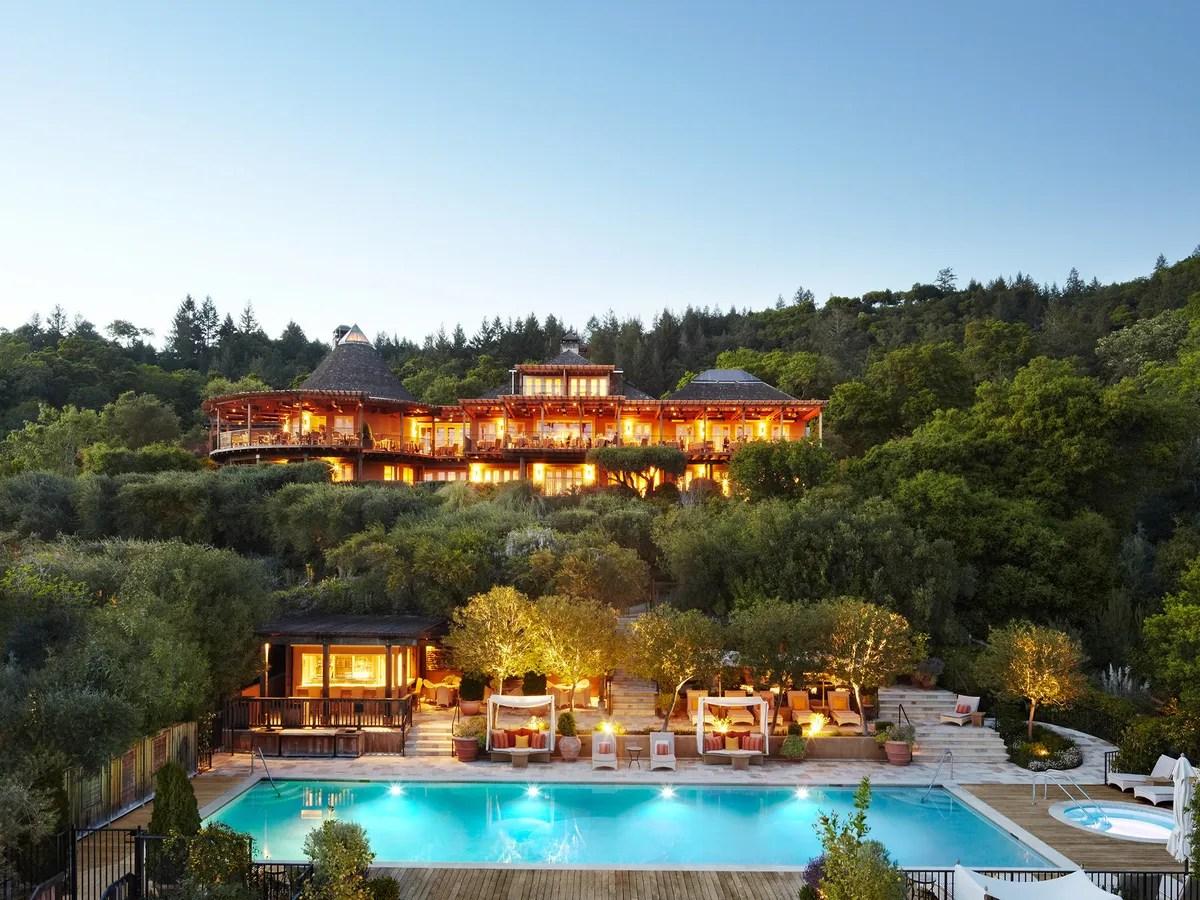 Auberge Du Soleil Napa Valley California