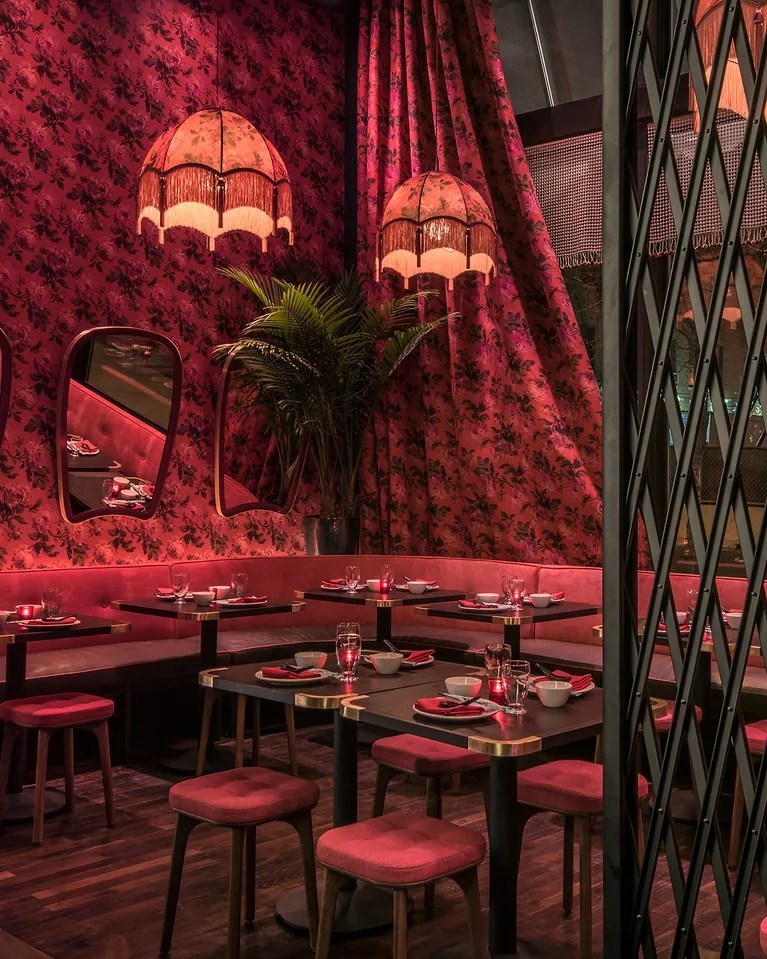 Best Color Restaurant Interior