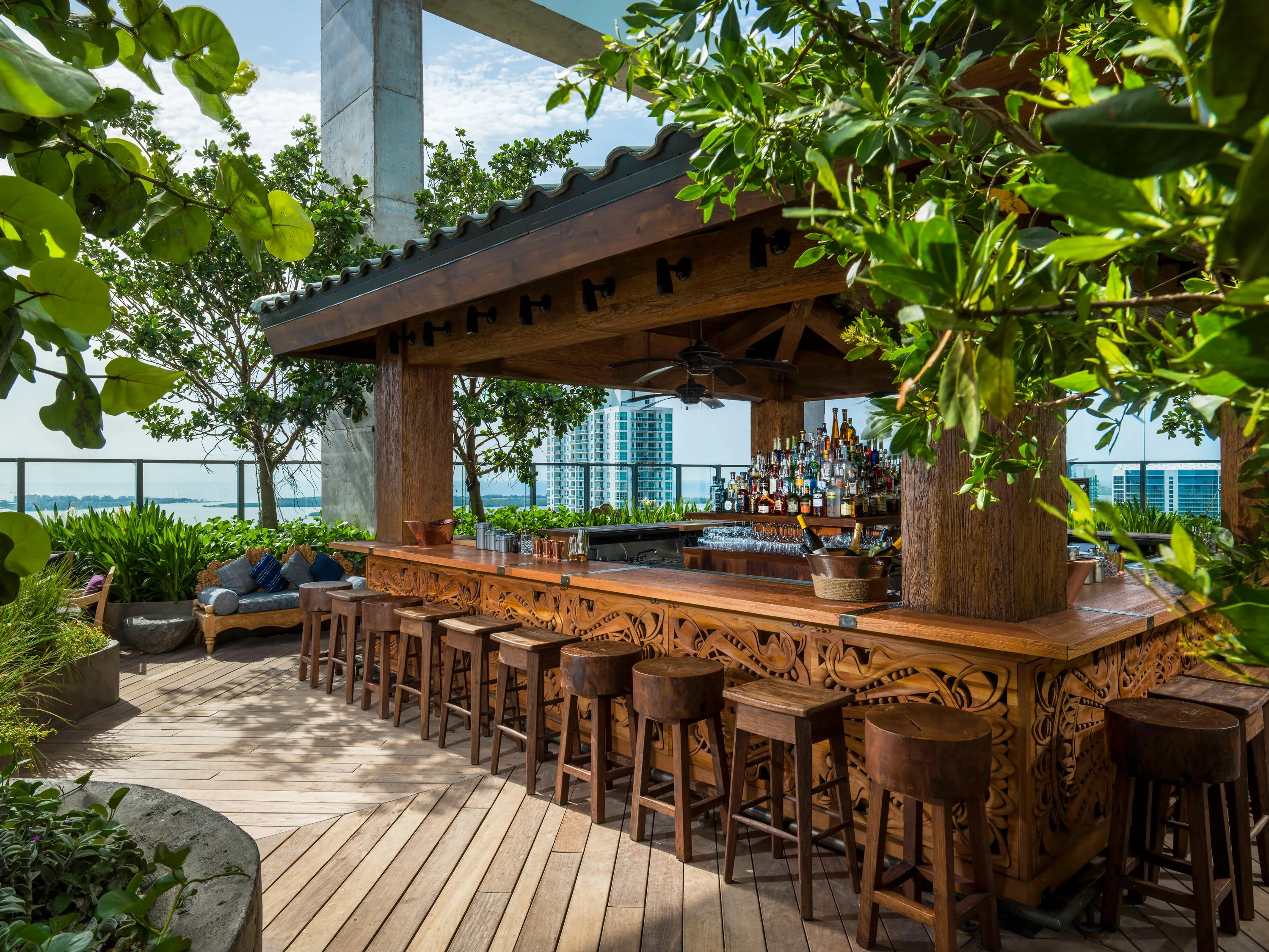 The 10 Best Rooftop Bars in Miami  Photos  Cond Nast