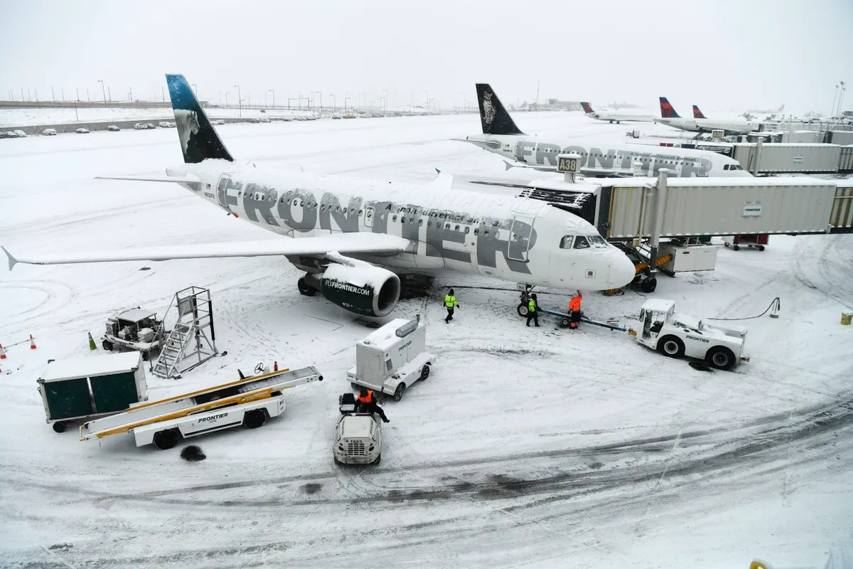 Frontier Airlines Is Getting Fined 15 Million For Long